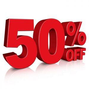 NEUBON SALE 50%